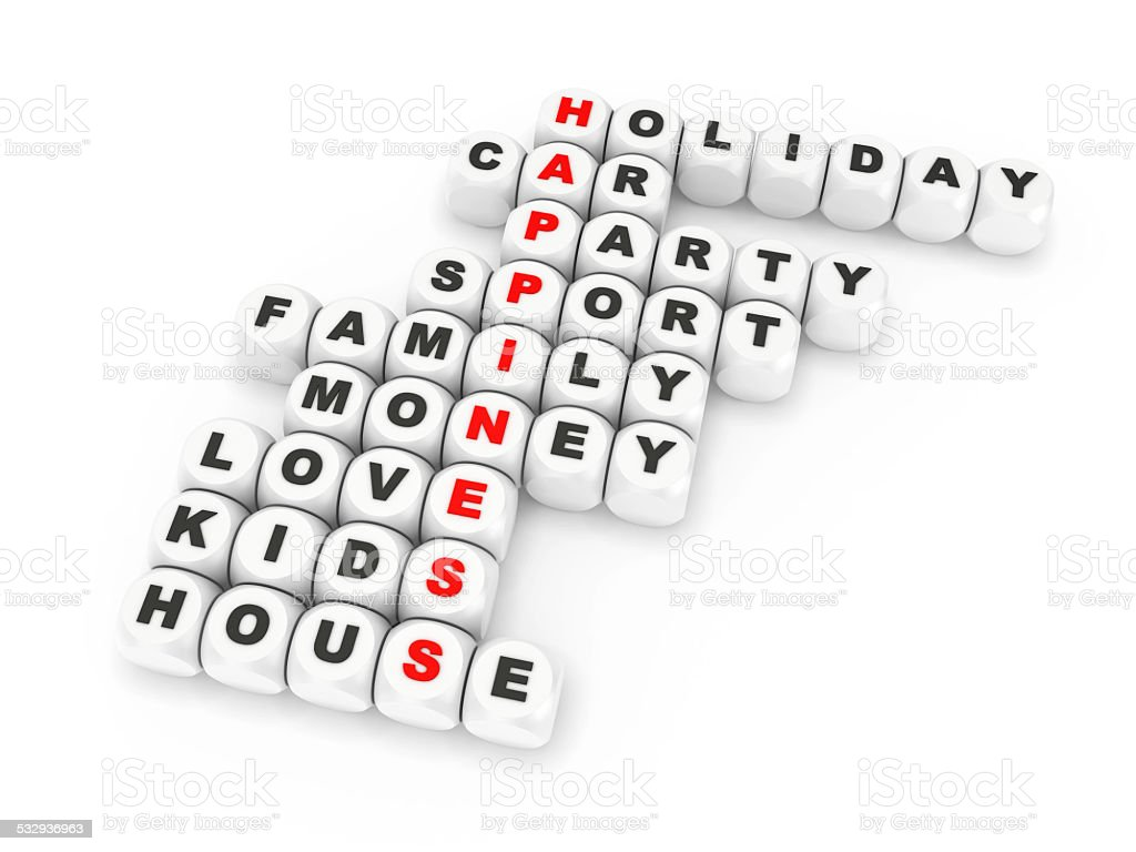 Happiness crossword stock photo more pictures of 2015 istock happiness crossword royalty free stock photo biocorpaavc