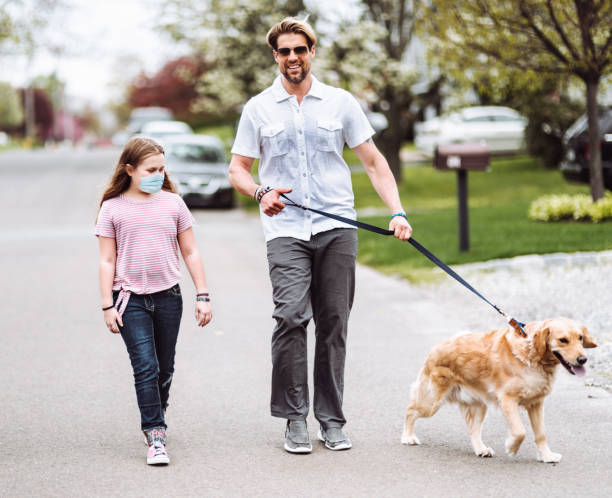 Happiness family walking with the dog on the street during covid19 picture id1243853973?b=1&k=6&m=1243853973&s=612x612&w=0&h=8pkpqsbs rt1im7pc5p3v uprqg2r67ma6bhelfiahs=