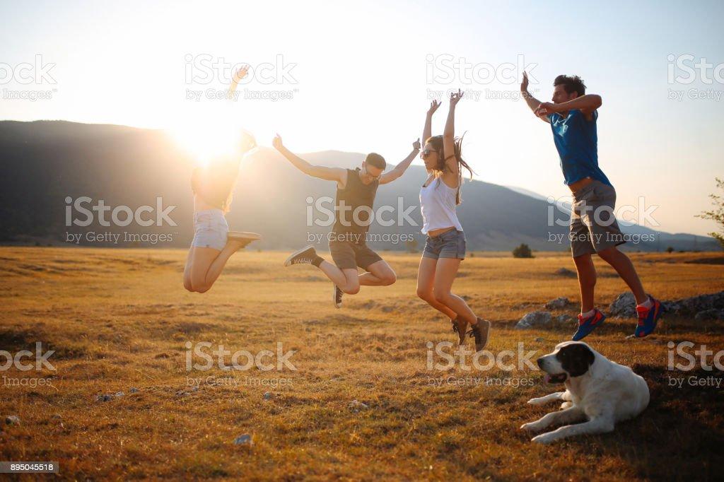 Bonheur dans la nature - Photo