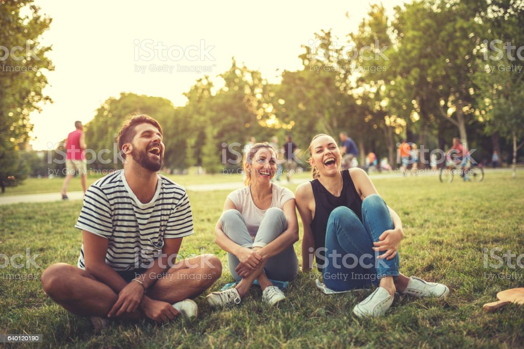 Happiness is being free stock photo
