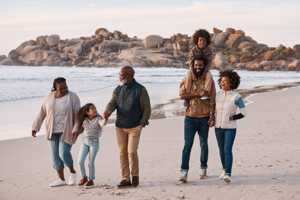 Glück ist, die ganze Familie zusammen zu haben – Foto
