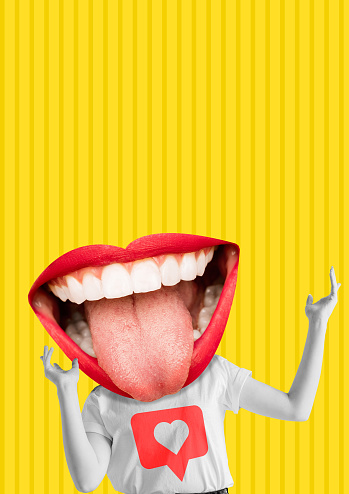 istock Happiness. Modern design. Contemporary art collage. 1141190396