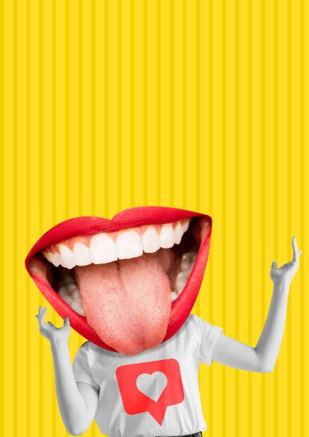 glück. modernes design. zeitgenössische kunstcollage. - flyer inspiration stock-fotos und bilder
