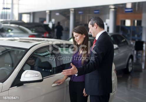 istock Happiness of buying a car 157525471