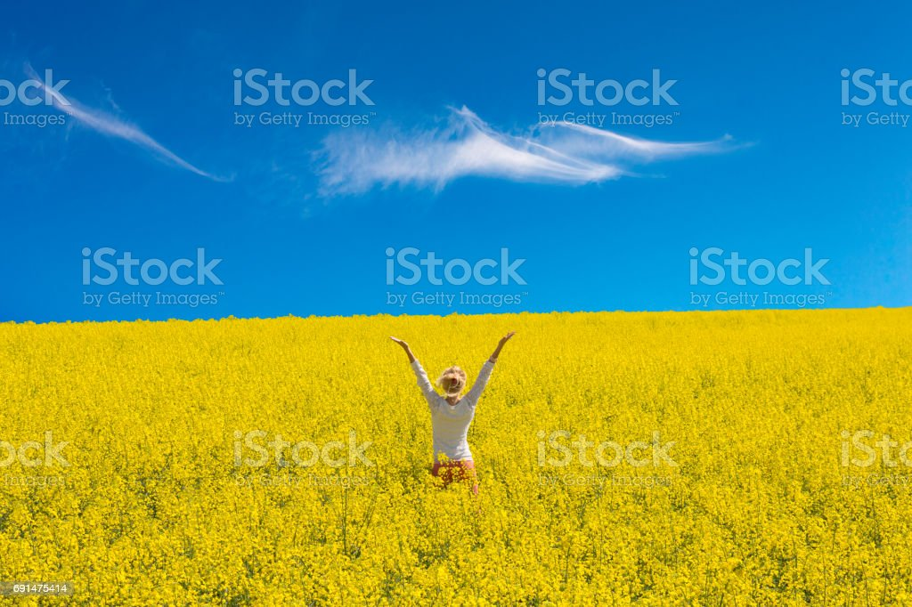 Happiness overload stock photo