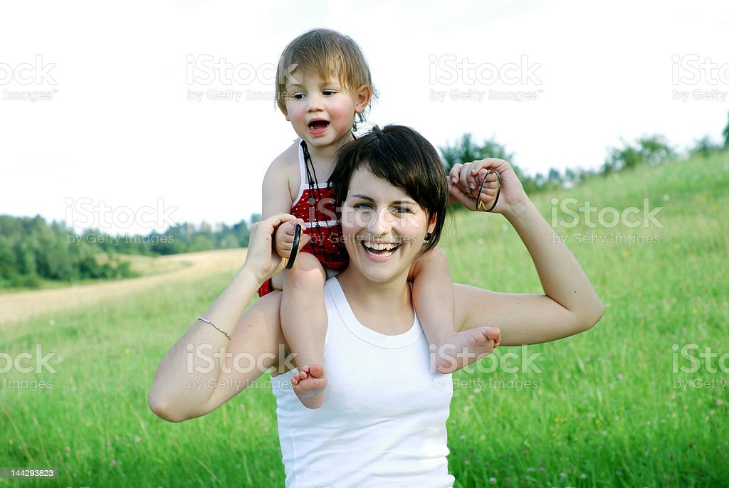happiness royalty-free stock photo