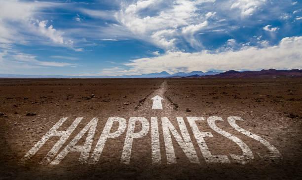 glücklichsein  - das leben genießen zitate stock-fotos und bilder