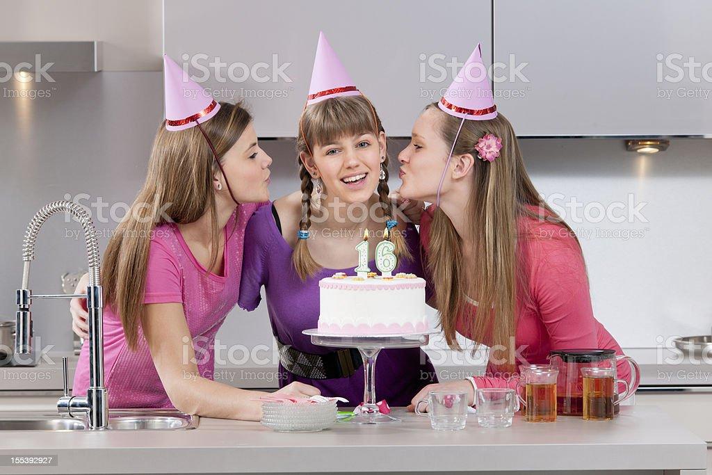 Feliz Aniversário de 16 - foto de acervo