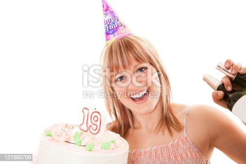 istock Happy 19th Birthday! 121360709