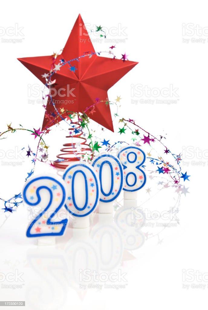 Happy 2008! royalty-free stock photo