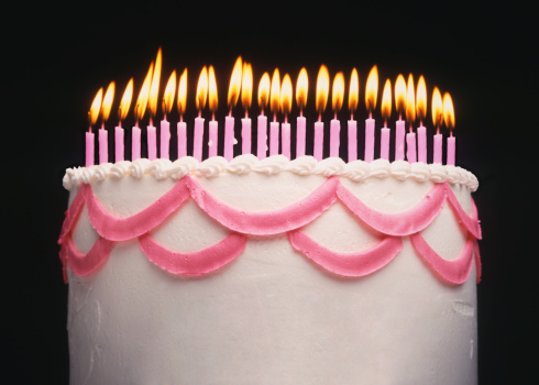 Happy 25th Stock Photo - Download Image Now
