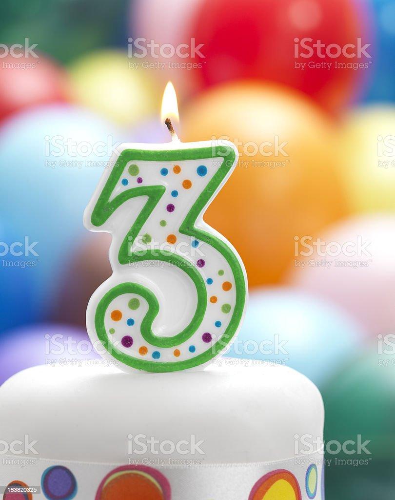 Happy 3rd Birthday Stock Photo Download Image Now Istock