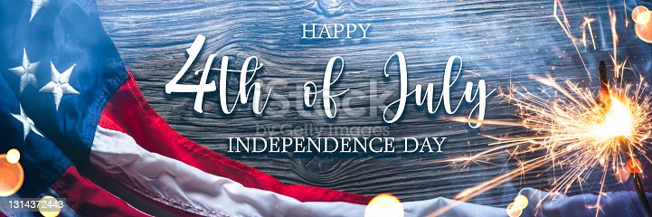 """istock """"Happy 4th Of July Independence Day"""" 1314372443"""
