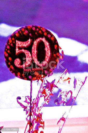 Happy 50th decoration