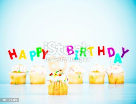 Cupcakes celebrating 60th birthday