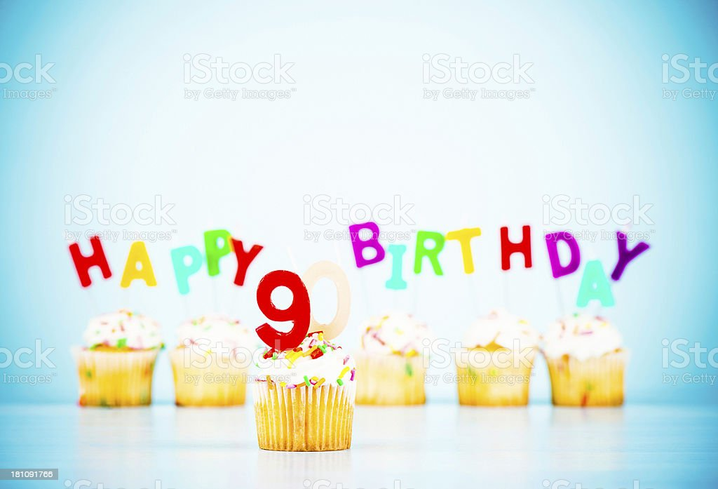Happy 90th Birthday Stock Photo More Pictures Of