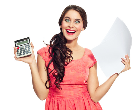 Happy Accountant Stock Photo - Download Image Now