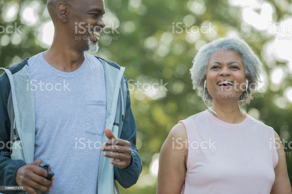Happy Active Senior Couple Are Living Healthy Lifestyle By