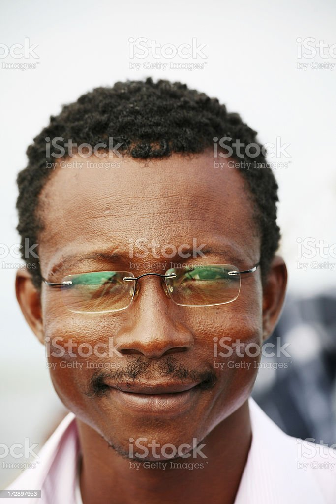 happy african man royalty-free stock photo