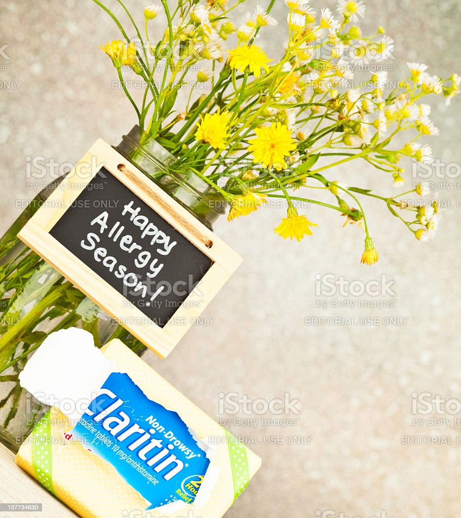 Happy Allergy Season! stock photo