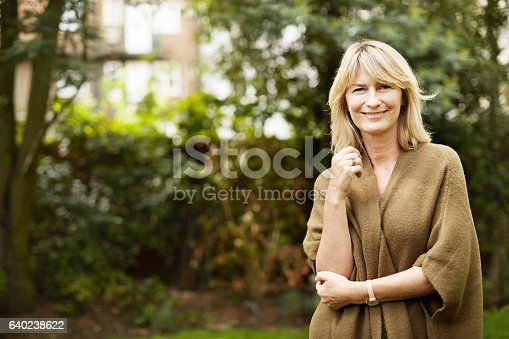istock Happy and content with life 640238622