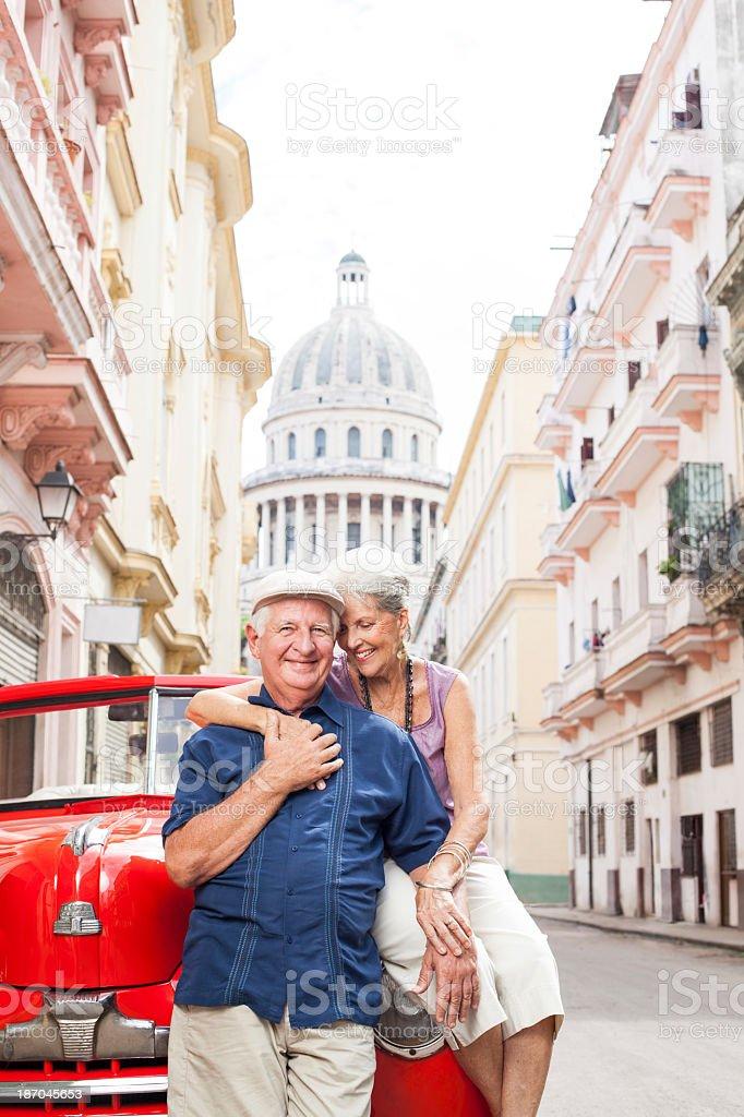 Happy and loving couple royalty-free stock photo
