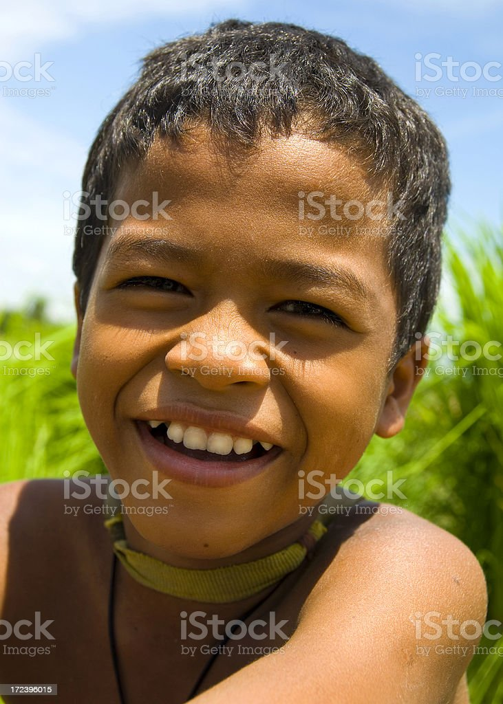 Happy Asian Boy royalty-free stock photo