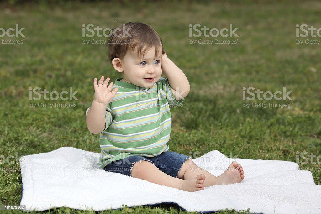 Happy Baby royalty-free stock photo