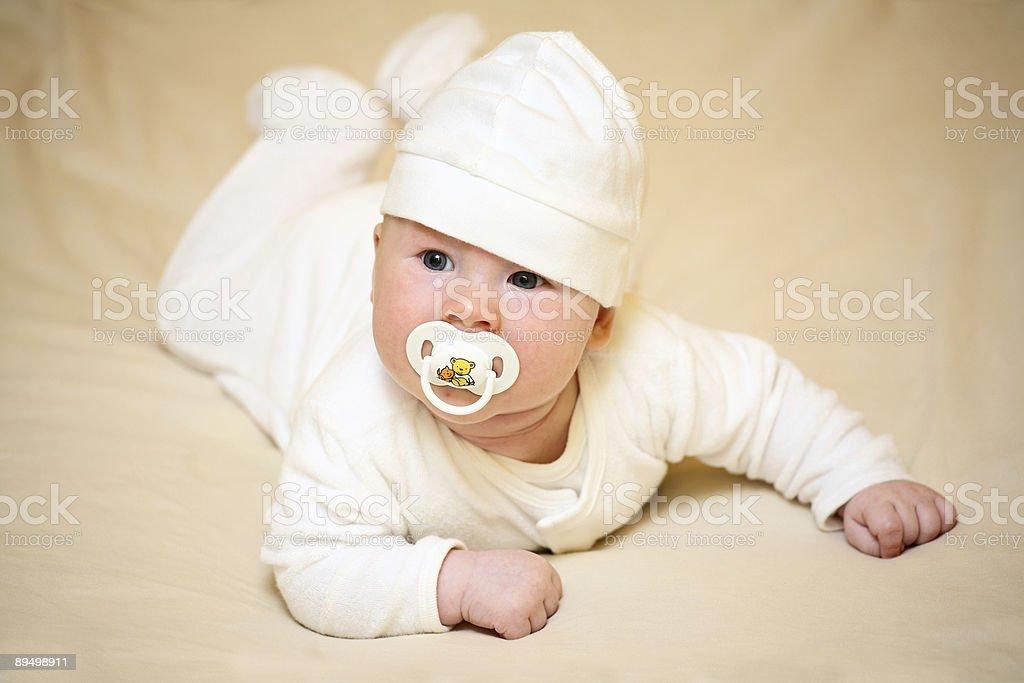 Szczęśliwy dziecka (chłopiec - 3 miesiąca życia zbiór zdjęć royalty-free
