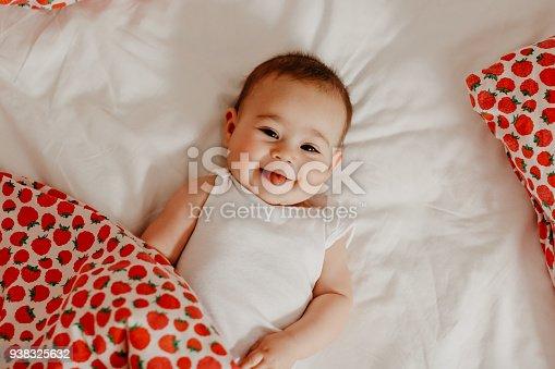 istock Happy baby 938325632