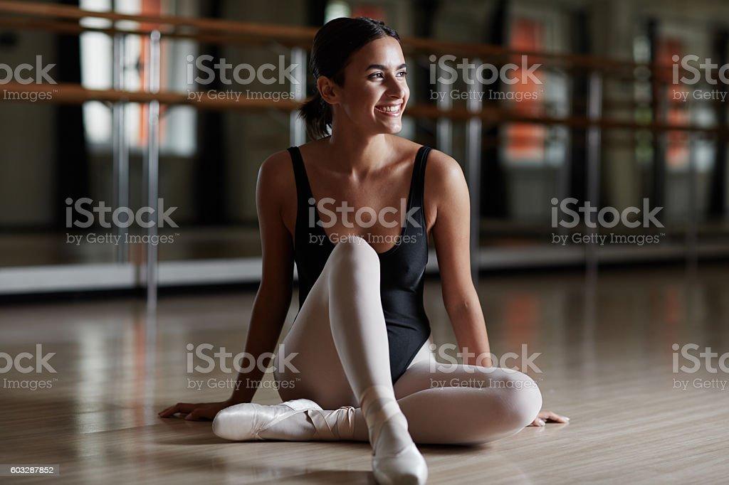 Glücklich Primaballerina – Foto