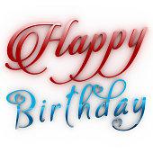 Happy Birthday 3D.