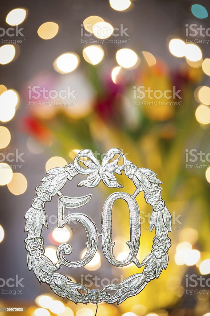 Buon Compleanno Di 50 Anni Fotografie Stock E Altre Immagini Di 50