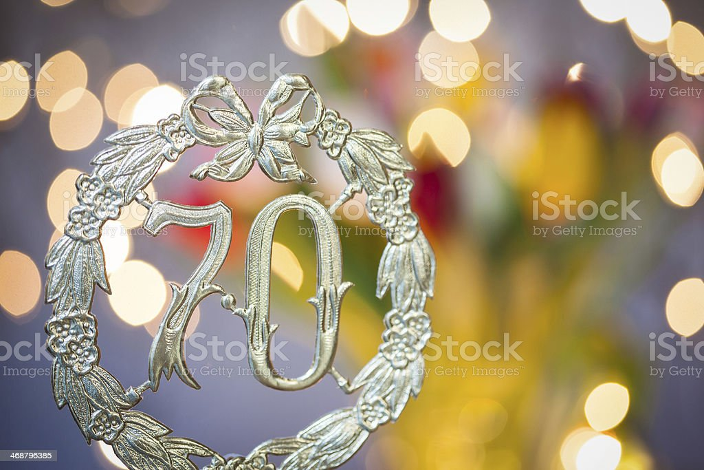Happy Birthday 70 Years Stock Photo More Pictures Of 79