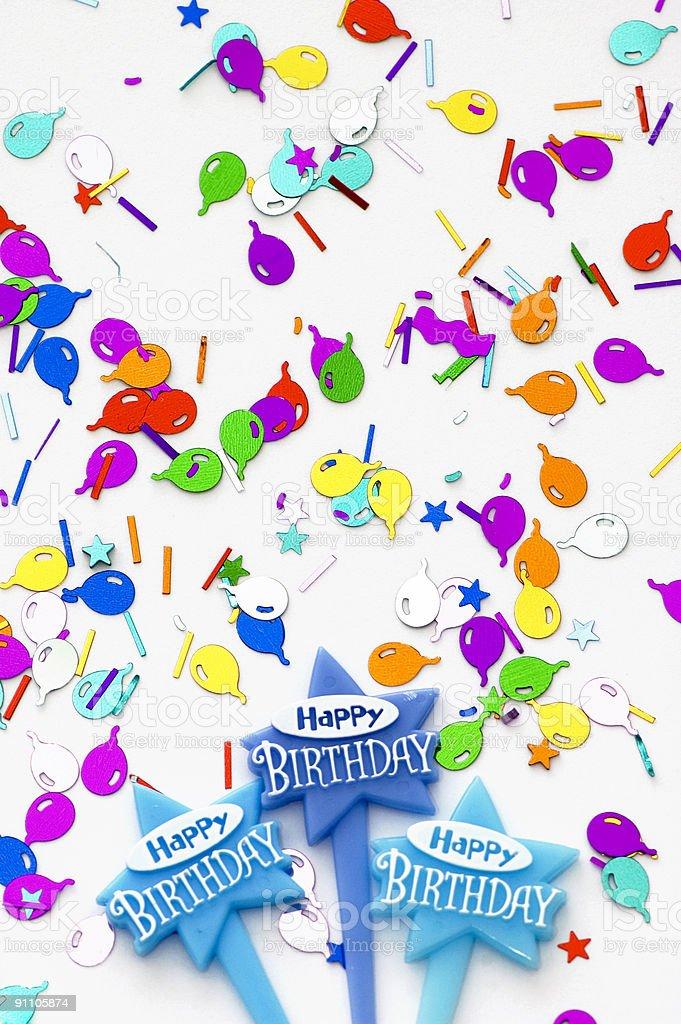 Happy Birthday Background royalty-free stock photo