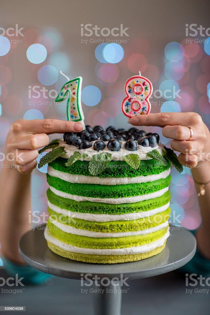 Happy birthday cake – Foto