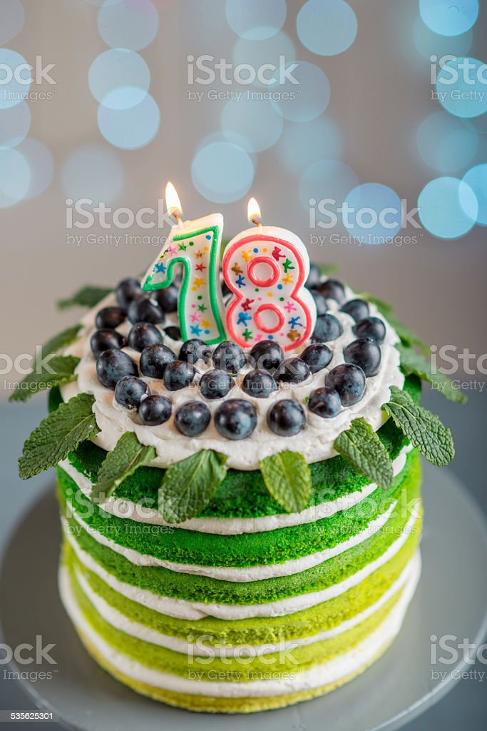 Happy Birthday Cake Stock Photo More Pictures Of 18 19 Years