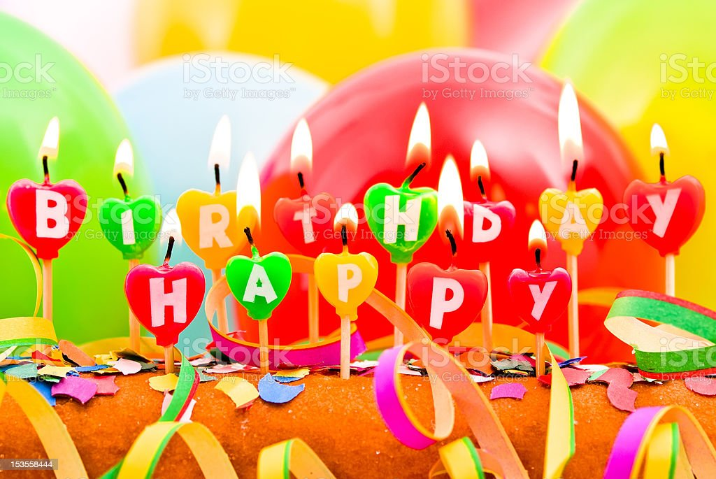 Happy Birthday Candles Stock Photo Download Image Now Istock