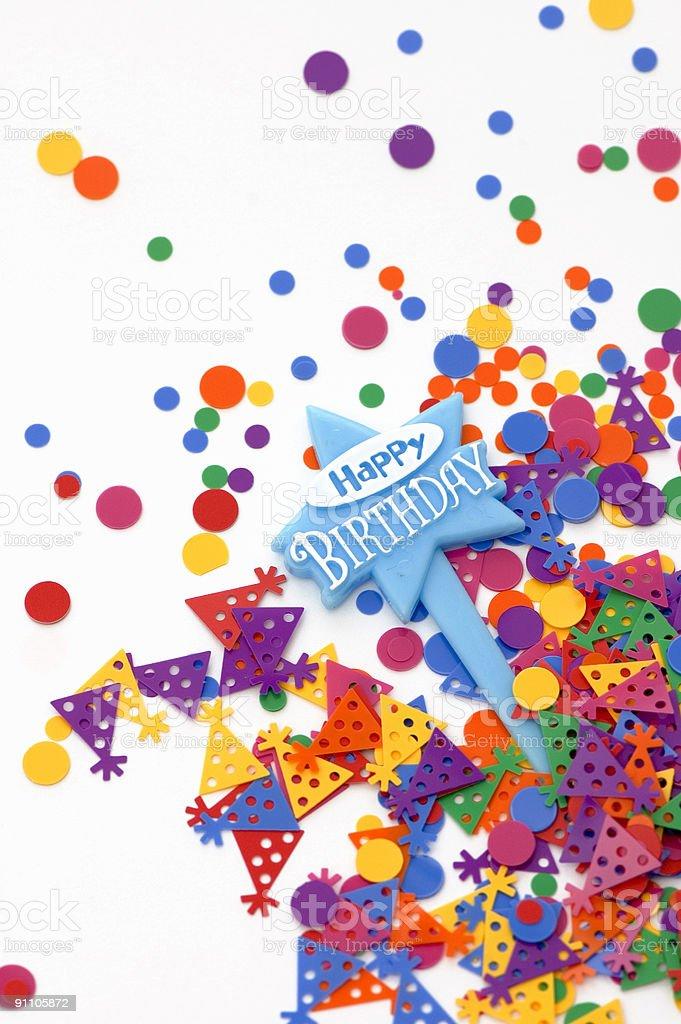 Happy Birthday Card royalty-free stock photo
