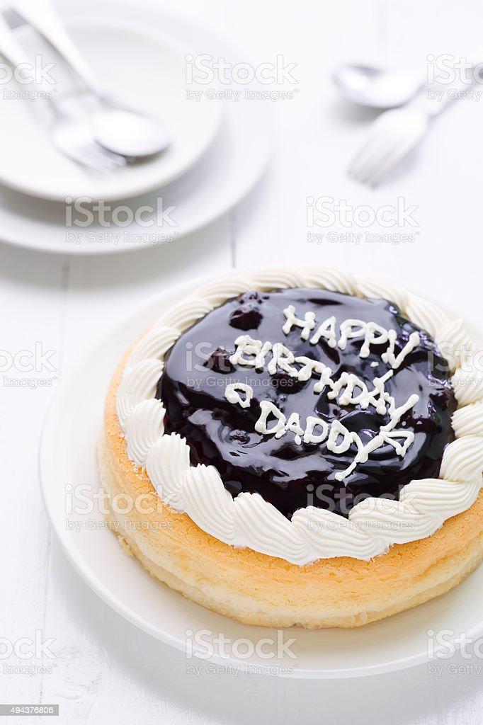 Terrific Happy Birthday Daddy Cake Background Happy Birthday Daddy Cake Personalised Birthday Cards Paralily Jamesorg