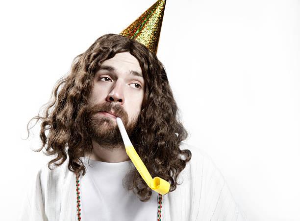 Happy Birthday Jesus Stock Photo