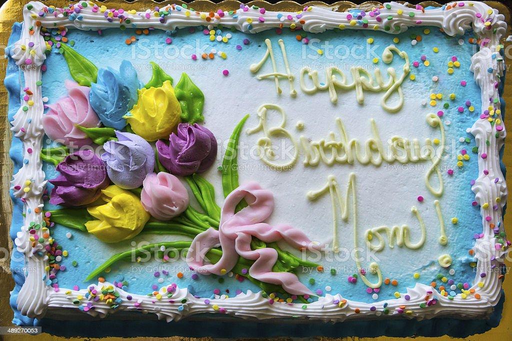 Excellent Happy Birthday Mom Birthdaycake Stock Photo Download Image Now Funny Birthday Cards Online Inifofree Goldxyz
