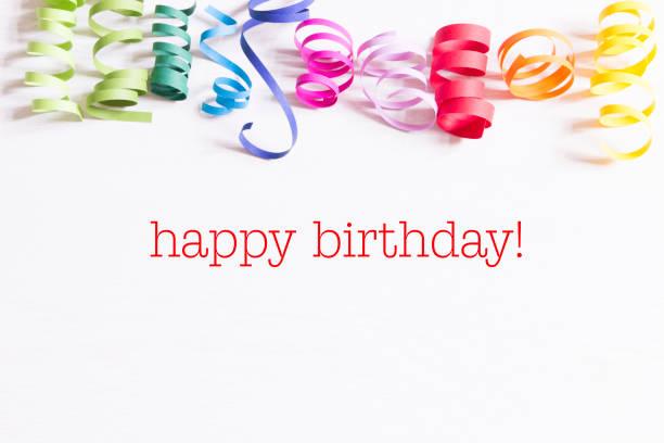 happy birthday - foto stock