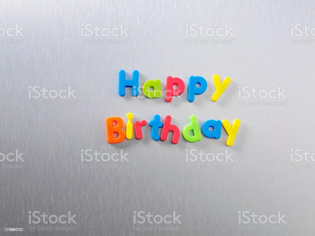 Happy Birthday royalty-free stock photo