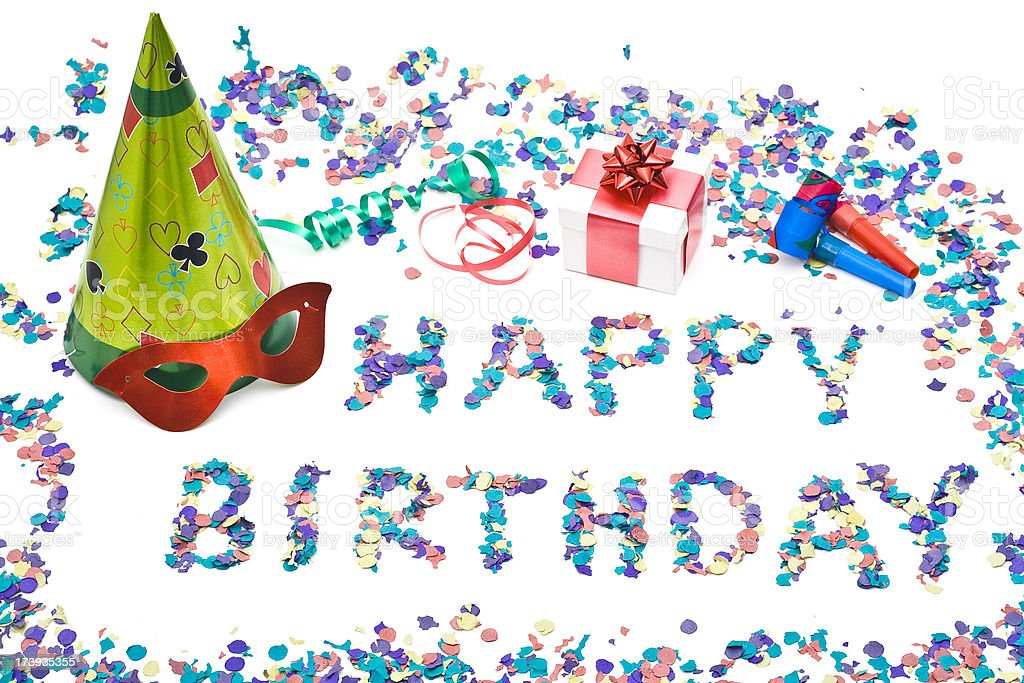 Happy birthday!! royalty-free stock photo
