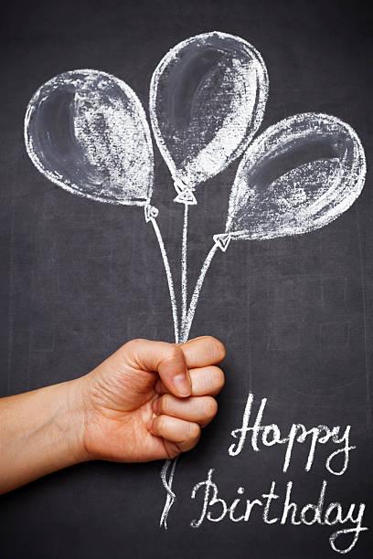 happy birthday - vorschulgeburtstag stock-fotos und bilder