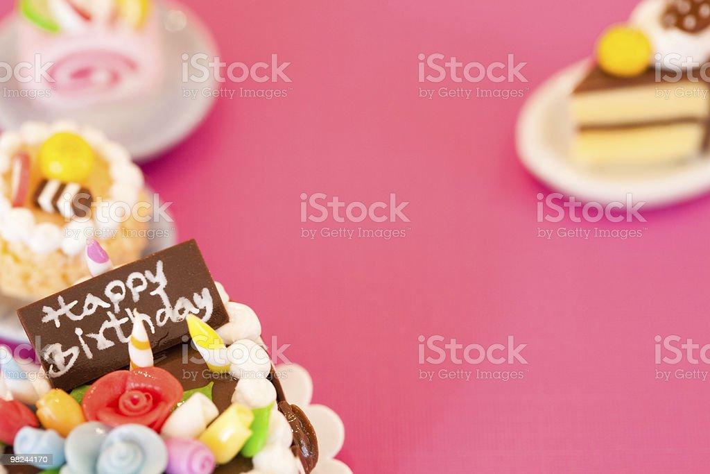 행복함 생일 royalty-free 스톡 사진