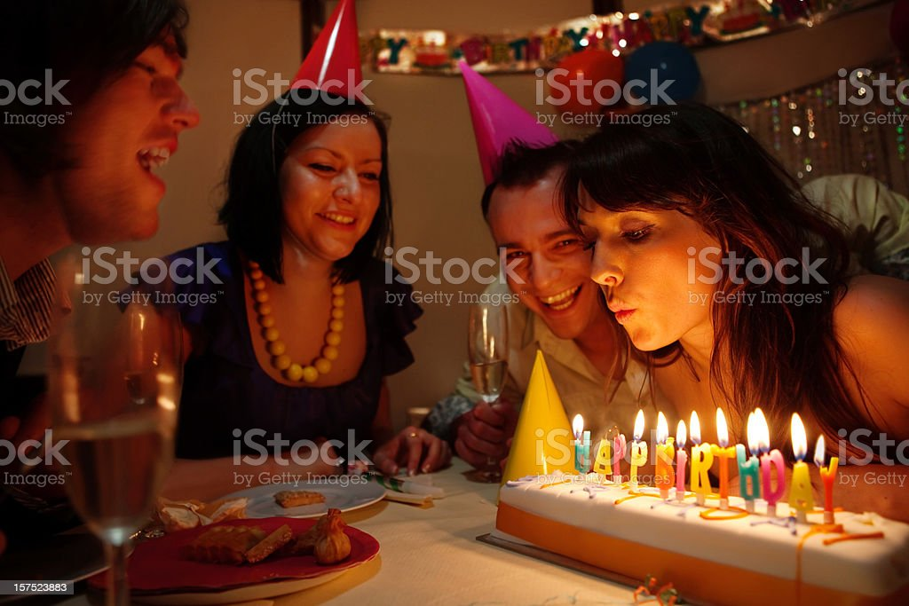 Happy Birthyday royalty-free stock photo