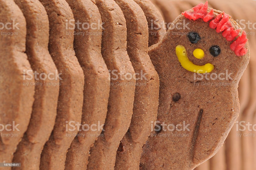 Happy Biscuit stock photo