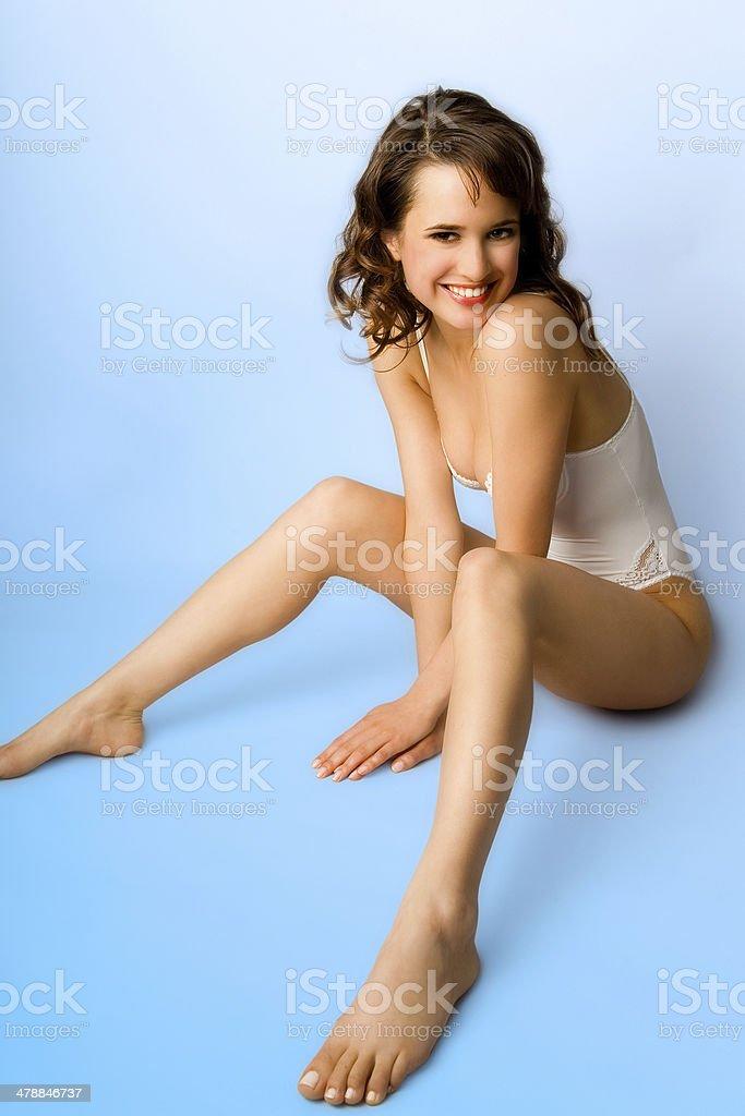 Happy Body royalty-free stock photo